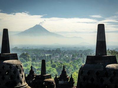 фото Храм Боробудур - сокровище Индонезии 4